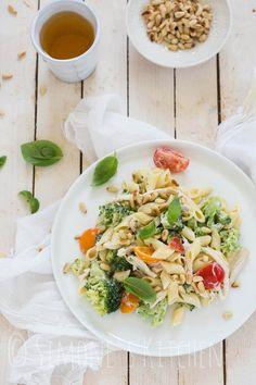Pasta salad with broccoli | insimoneskitchen.com