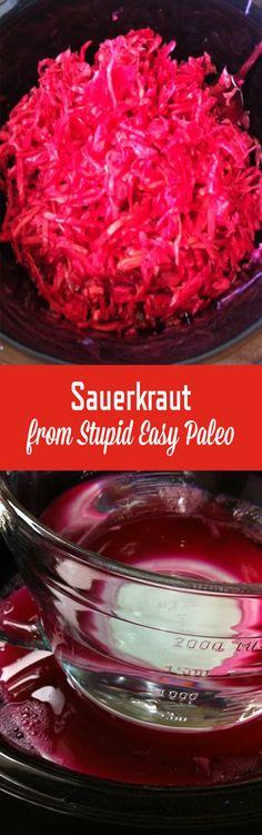 Sauerkraut | StupidEasyPaleo.com
