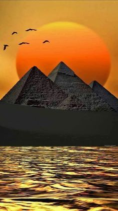 The Pyramids of Giza,Cairo, Egypt Ancient Egyptian Art, Ancient History, Pyramids Egypt, Kairo, Egypt Art, Ancient Mysteries, Photos Voyages, Giza, Beautiful World