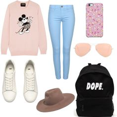 Untitled #76 by alicia-mafli on Polyvore featuring polyvore fashion style Markus Lupfer H&M Ray-Ban Madewell Uncommon