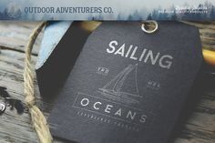 150 Outdoor Adventurers Logos #logo #outdoor #camping #vintage #sailing