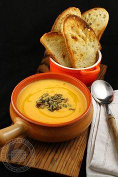 supa crema de dovleac cu mustar 1
