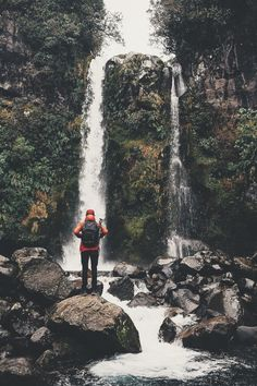 Dawson Falls in Taranaki (lebackpacker) | instagram