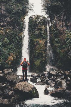 Dawson Falls in Taranaki (lebackpacker) | instagram