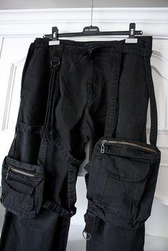 rafsimons-archive: Raf Simons Spring-Summer 2003 parachute trousers