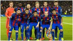 Equipos de fútbol: BARCELONA contra Paris Saint-Germain 08/03/2017