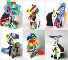 BIBLIOTECA ILDEFONSITO: Conocemos a Joan Miró