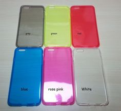 For Apple iphone 6 Plus (5.5 inches) Assorted Color TPU Soft Silicone case