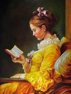 Jean-Honoré Fragonard, Lettrice, 1770-72, olio su tela, National Gallery of Art (Washington)