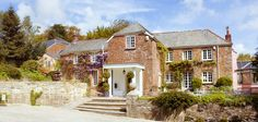 A beautiful building - Boscundle Manor wedding venue in St Austell, Cornwall Best Surfing Spots, Countryside Landscape, Best Holiday Destinations, Country House Hotels, Sloped Garden, Wedding Venues Texas, Family Days Out, Cornwall England, Hotel Stay