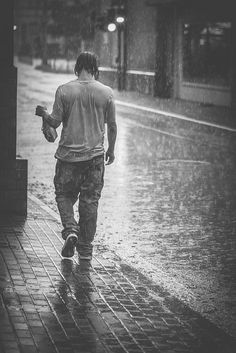 Rainy Day - photo by Florian Gierschner Walking In The Rain, Singing In The Rain, Rainy Night, Rainy Days, Rain Photography, Street Photography, Smell Of Rain, I Love Rain, Rain Go Away