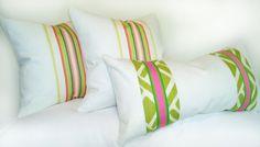 Girl's Pillow Cover Set (3) Handmade Original Teen Room Decor Kids GIFT Cool #OriginalbyPillowPleasiing
