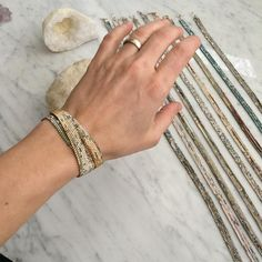 ⚡️ The latest round of WYSH wrap bracelets just arrived! 4 of these have pre-sold but if you are interested in one please email me! Hand beaded by a beautiful soul in North Carolina. Custom Jewelry, Handmade Jewelry, Wrap Bracelets, Beautiful Soul, Bridal Accessories, North Carolina, Instagram Posts, Gold, Collection