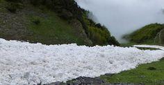 Une rivière de neige en Autriche- MétéoCity