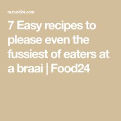From finger-licking sticky pork ribs to chocolate braai pie for dessert, there's a recipe that will please any fussy palate. Braai Pie, Sticky Pork Ribs, Quiche Muffins, Low Carb Quiche, Easy Recipes, Easy Meals, Biltong, Fussy Eaters, Spice Rub