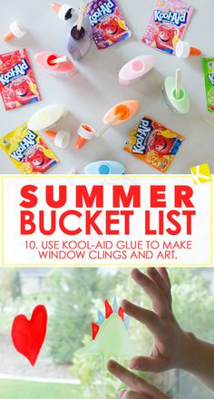 Must do summer activities for kiddos