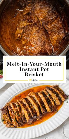 Use Your Instant Pot to Make Tender, Melt-in-Your-Mouth Brisket in a Fraction of the Time