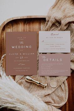 Wedding Stationary, Wedding Invitation Templates, Pink Wedding Invitations, Wedding Invitation Inspiration, Invitation Ideas, Wedding Invites Rustic, Backyard Wedding Invitations, Digital Invitations, Wedding Wishes