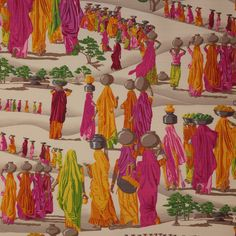Sari Fabric - Cowtan Design Library