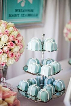 TIFFANY & CO Baby Shower Party Ideas | Photo 1 of 49 | Catch My Party