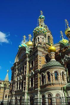 St Petersburg, Igreja, Salvador No Sangue, Monumento