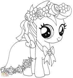 Ponies Coloring Coloring Page Pinterest Pony Mlp And Coloring