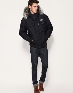 The North Face Jacket  (Men's Pre-owned Jackets & Coats, Black, Gotham)
