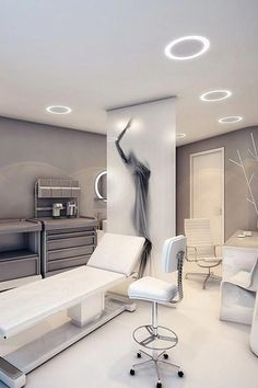 Spa Interior, Clinic Interior Design, Clinic Design, Doctors Office Decor, Medical Office Decor, Dental Office Design, Schönheitssalon Design, Design Ideas, Spa Room Decor