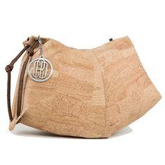 CORK HALF MOON HANDBAG Vegan Bag UNIQUE STYLE Purse: Handbags: Amazon.com