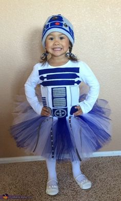 Lady R2D2 - Halloween Costume Contest via @costume_works