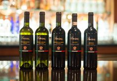 Luciano house wine label- personally selected by our family during trips to Italy.