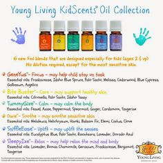 Essential Oils: Kid Scents Oil Collection by Young Living Essential Oils