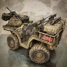Your family's car SUVs, which we know for their sportier appearance, fall into the category of pickup trucks. Army Vehicles, Armored Vehicles, Special Ops, Special Forces, Gi Joe, Accessoires Quad, Military Action Figures, Military Diorama, Military Gear