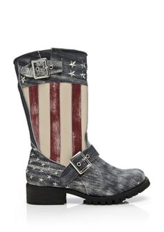 Penny Sue American Freedom Boots