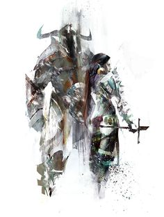 Guild Wars 2 Concept Art // By Unknown