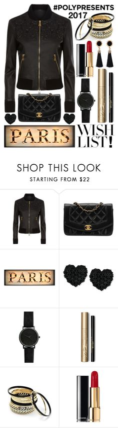 """#PolyPresents: Wish List"" by j-n-a ❤ liked on Polyvore featuring La Perla, Chanel, Betsey Johnson, Stila, Venus, contestentry and polyPresents"