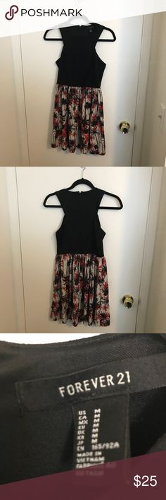 EUC Cute dress size M by Forever 21 Excellent condition Forever 21 Dresses Midi