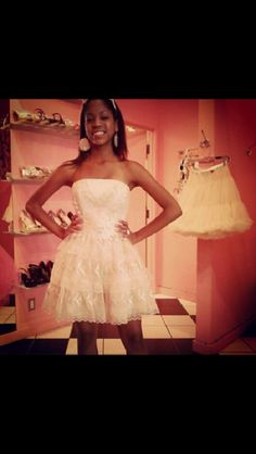 My first Betsey Johnson dress I ever tried on. I wish I could have got it!