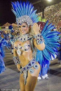 Samba Carnival Rio Festival 2013