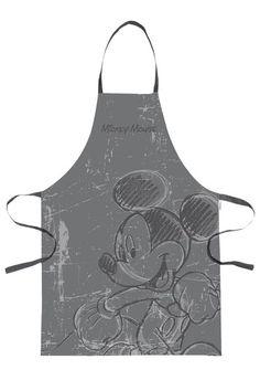 Tablier Disney Mickey Amusez vous dans la cuisine! Seulement 12,20 € sur www.ac-deco.com #Disney #Mickey