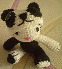 2000 Free Amigurumi Patterns: Panda Hello Kitty