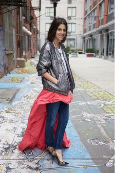 #pants #skirt #paris #trend #manrepeller More: http://www.misslittletouch.com/2013/11/21/pollera-con-pantalon/