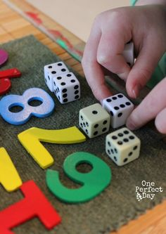 hands on math games