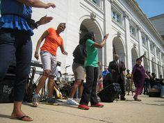 KEEN's World Recess Day Instant Recess® break in Washington, DC