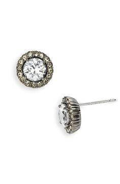 Nadri Round Cubic Zirconia Stud Earrings | Nordstrom