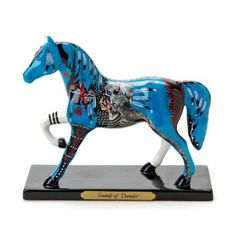 Amazon.com: Trail of Painted Ponies from Enesco Sounds of Thunder Figurine 6.75 IN: Home & Kitchen
