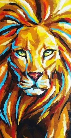 100 Artistic Acrylic Painting Ideas For Beginners – Just For You Prophetic Art 100 Artistic Acrylic Painting Ideas For Beginners Lion painting. 100 Artistic Acrylic Painting Ideas For Beginners! Please also visit Just For You Prophetic Art. Acrylic Painting For Beginners, Simple Acrylic Paintings, Beginner Painting, Painting Tutorials, Simple Paintings For Beginners, Acrylic Painting Inspiration, Beginner Art, Unique Paintings, Contemporary Paintings
