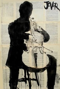 "Saatchi Online Artist Loui Jover; Drawing, ""the player"" #art"