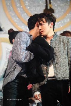 Donghae and Sehun 2018