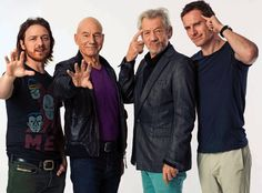Professor X and Magneto times two. My brain cannot process this... <3